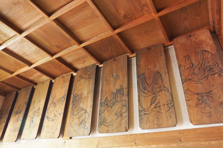 十六羅漢木絵